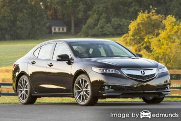 Cheap Rate Quotes For Acura TLX Insurance In Detroit MI - Acura insurance