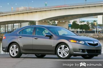 Insurance quote for Acura TSX in Detroit