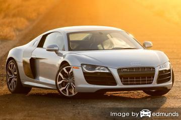 Insurance quote for Audi R8 in Detroit