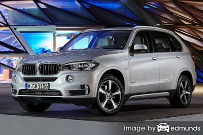 Insurance quote for BMW X5 eDrive in Detroit