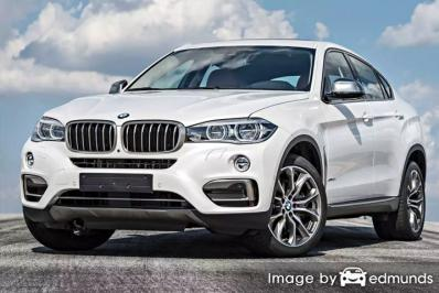 Insurance quote for BMW X6 in Detroit