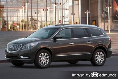 Insurance rates Buick Enclave in Detroit
