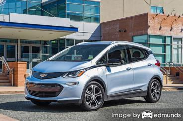 Insurance quote for Chevy Bolt EV in Detroit