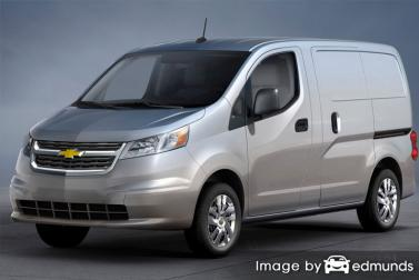 Insurance rates Chevy City Express in Detroit