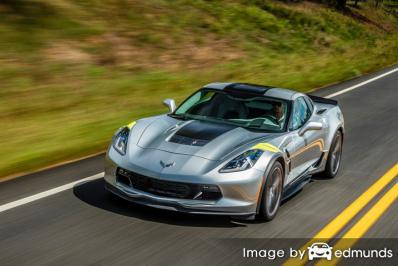 Discount Chevy Corvette insurance