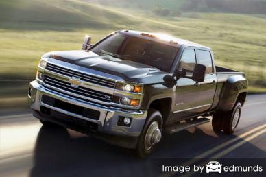 Insurance quote for Chevy Silverado 3500HD in Detroit