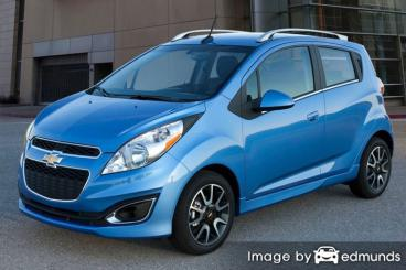Insurance quote for Chevy Spark in Detroit