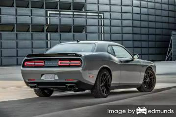 How much is car insurance for a dodge challenger