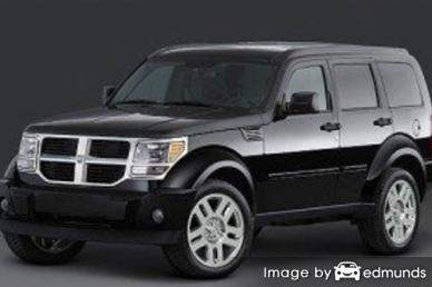 Insurance quote for Dodge Nitro in Detroit