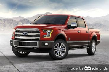 Insurance rates Ford F-150 in Detroit