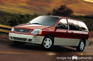 Insurance rates Ford Freestar in Detroit