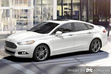 Insurance rates Ford Fusion in Detroit