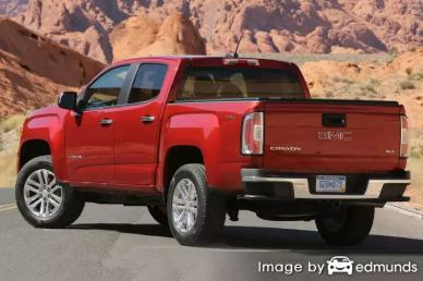 Insurance quote for GMC Canyon in Detroit