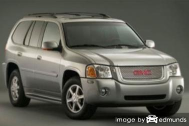Insurance rates GMC Envoy in Detroit