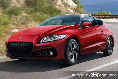 Insurance rates Honda CR-Z in Detroit