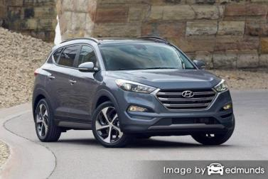Insurance rates Hyundai Tucson in Detroit
