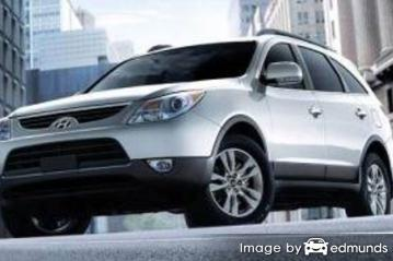 Insurance quote for Hyundai Veracruz in Detroit