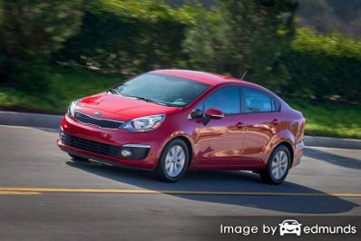 Discount Kia Rio insurance