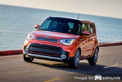 Insurance rates Kia Soul in Detroit
