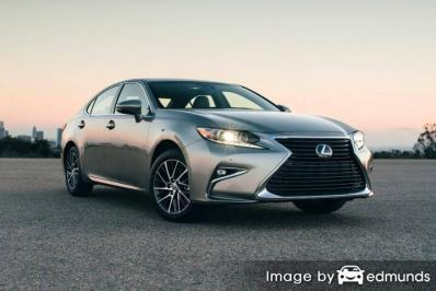 Discount Lexus ES 350 insurance