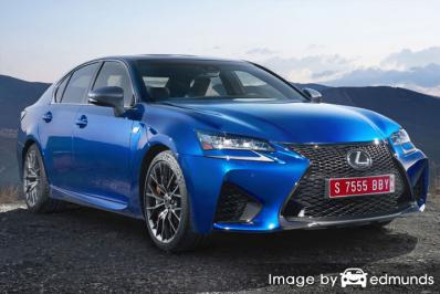 Insurance quote for Lexus GS F in Detroit