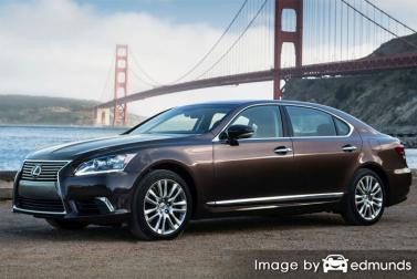 Insurance quote for Lexus LS 600h L in Detroit