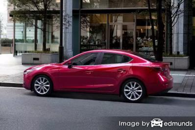 Insurance quote for Mazda 3 in Detroit