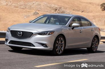 Insurance quote for Mazda 6 in Detroit