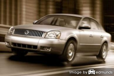 Insurance quote for Mercury Montego in Detroit