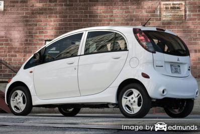 Insurance quote for Mitsubishi i-MiEV in Detroit