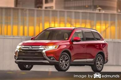Insurance rates Mitsubishi Outlander in Detroit