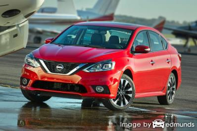 Insurance rates Nissan Sentra in Detroit
