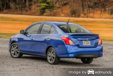 Cheap Quotes For Nissan Versa Insurance In Detroit Mi
