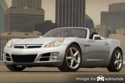 Insurance rates Saturn Sky in Detroit