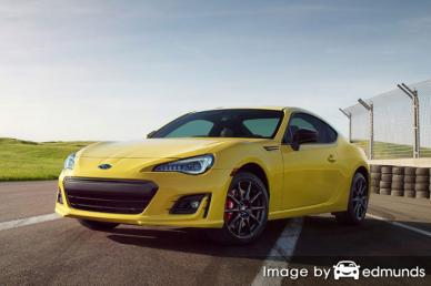 Insurance quote for Subaru BRZ in Detroit
