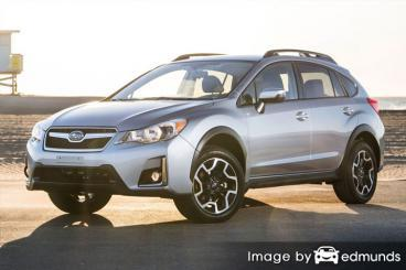 Discount Subaru Crosstrek insurance