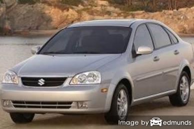 Insurance rates Suzuki Forenza in Detroit