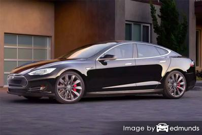 Insurance quote for Tesla Model S in Detroit