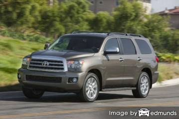 Insurance quote for Toyota Sequoia in Detroit
