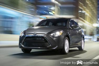 Insurance quote for Toyota Yaris iA in Detroit