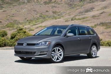 Insurance quote for Volkswagen Golf SportWagen in Detroit