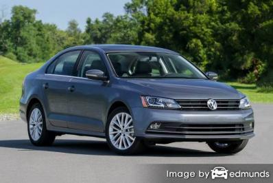 Insurance quote for Volkswagen Jetta in Detroit